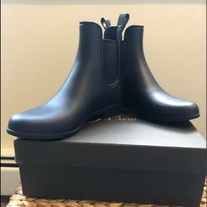 JCrew Matte Chelsea Rain Boots